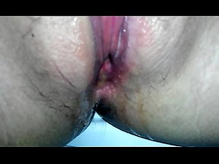 Watch my pussy fucking and pissing!