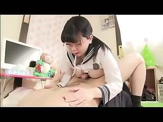 Asian school gril