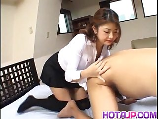 Staggering office porn experience for Alice Hoshi